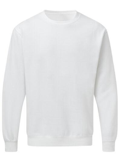 SG Men's Crew Neck Sweatshirt White