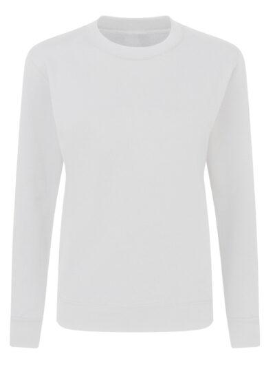 SG Ladies' Crew Neck Sweatshirt White