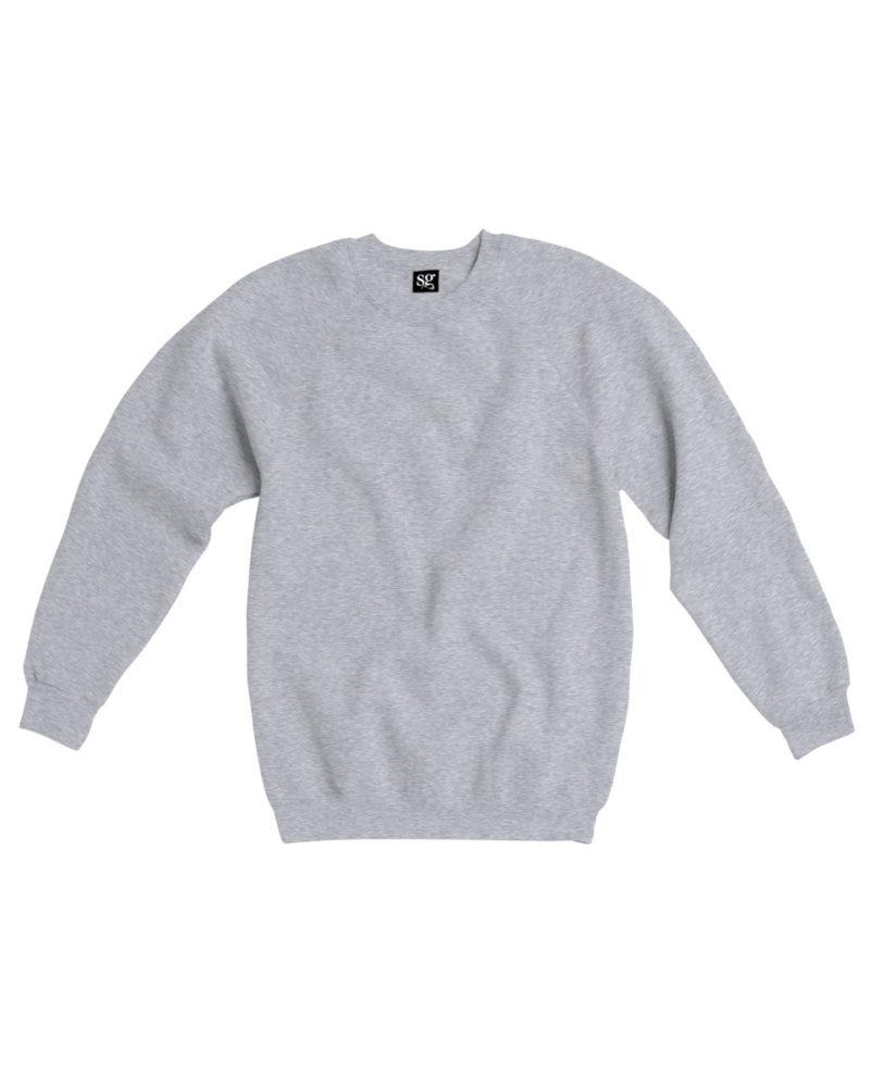 Kid's Raglan Sleeve Crew Neck Sweatshirt