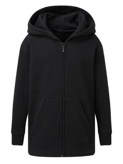 SG Kid's Full Zip Hoodie Black