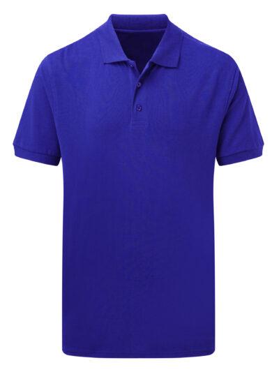 SG Men's Cotton Polo Royal Blue