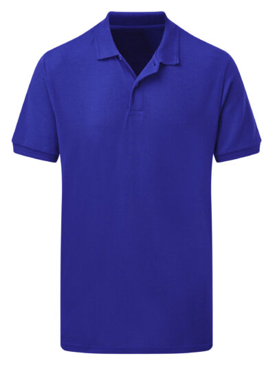 SG Men's Polycotton Polo Royal Blue