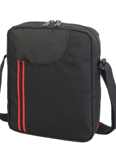 Shugon Rennes Messenger Pouch Black and Red