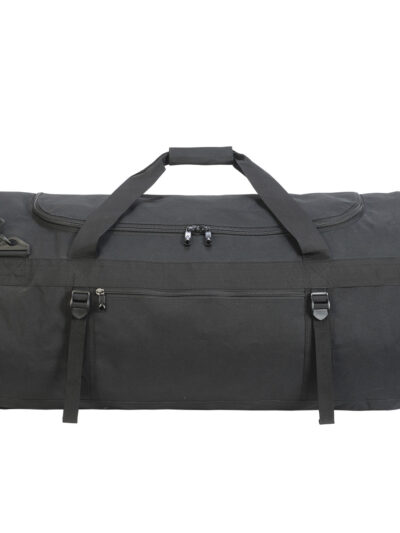 Shugon Atlantic Oversize Kitbag Black and Black