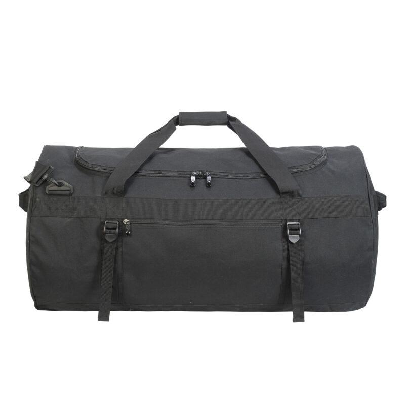 Shugon Atlantic Oversize Kitbag Black and Black