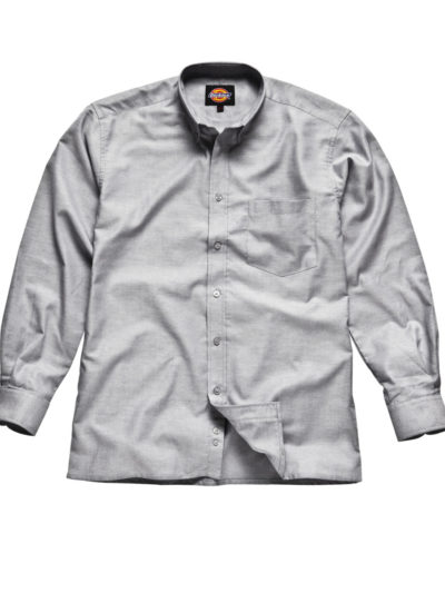 Long Sleeve Cotton/Polyester Oxford Shirt