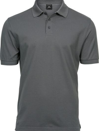 Tee Jays Men's Luxury Stretch Polo Powder Grey