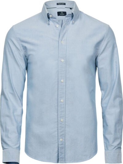 Tee Jays Men's Perfect Oxford Shirt Light Blue