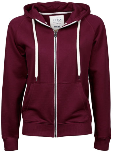 Tee Jays Ladies Urban Zip Hoodie