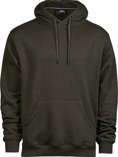 Tee Jays Men's Hooded Sweatshirt Dark Olive