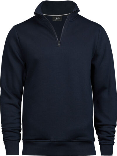 Tee Jays Half Zip Sweatshirt Navy Blue