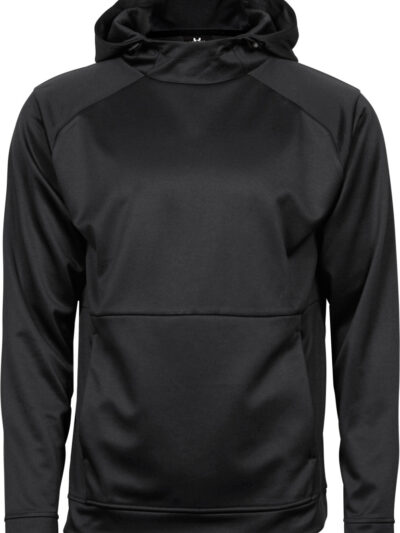Tee Jays Men's Performance Hoodie Black