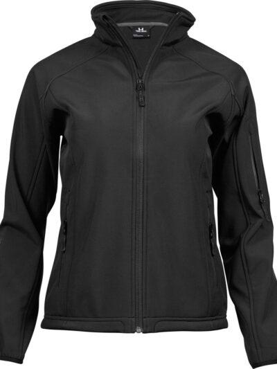 Tee Jays Ladies' Lightweight Performance Softshell Black