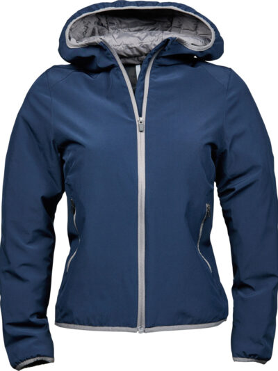 Tee Jays Ladies' Competition Jacket Navy and Light Grey
