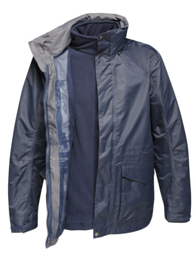 Regatta Benson III Men's Breathable 3-in-1 Jacket Navy Blue