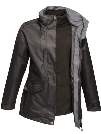 Regatta Benson III Women's Breathable 3-in-1 Jacket Black