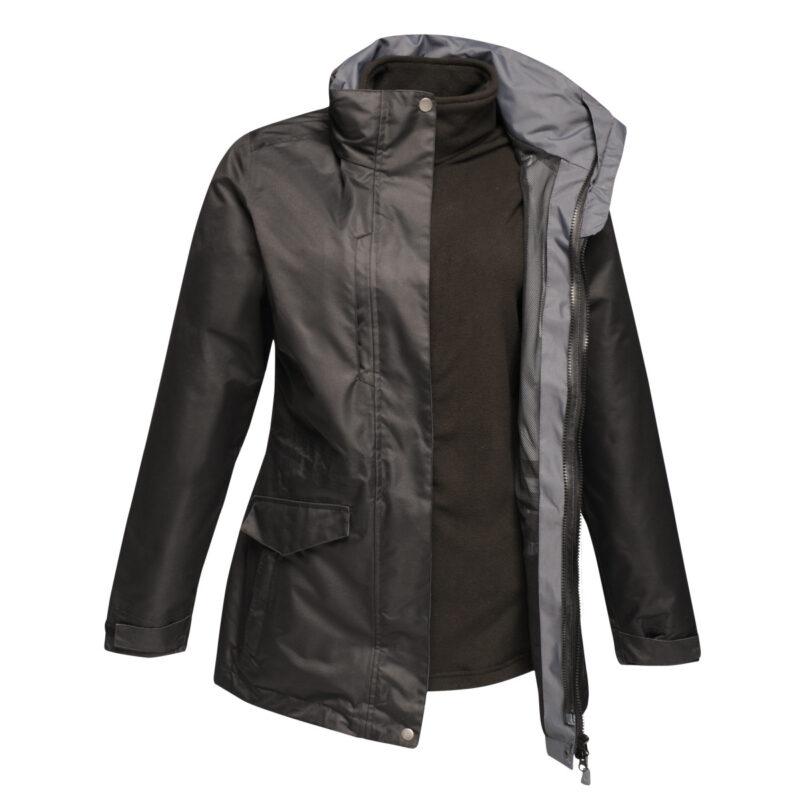 Regatta Benson III Women's Breathable 3-in-1 Jacket Black
