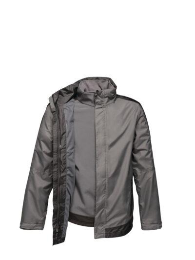 Regatta Contrast 3-in-1 Softshell Inner Jacket Seal Grey and Black