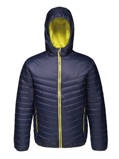 Regatta Acadia II Men's Warmloft Down-Touch Jacket Navy and Neon Spring