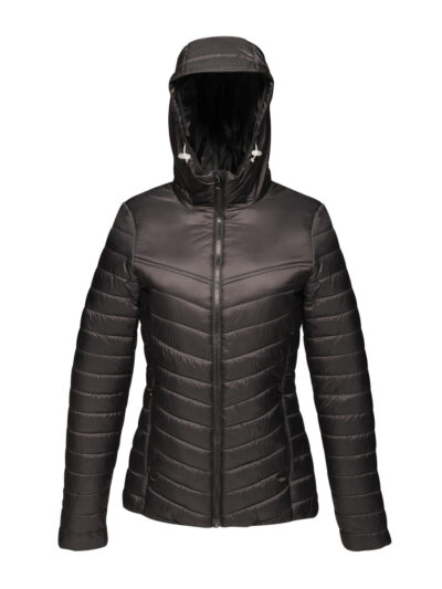 Regatta Acadia II Women's Warmloft Down-Touch Jacket Black and Black