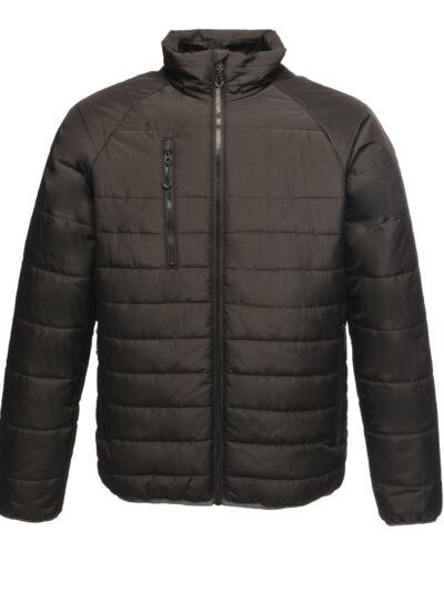 Regatta Glacial Warmloft Thermal Ripstop Jacket Black and Black