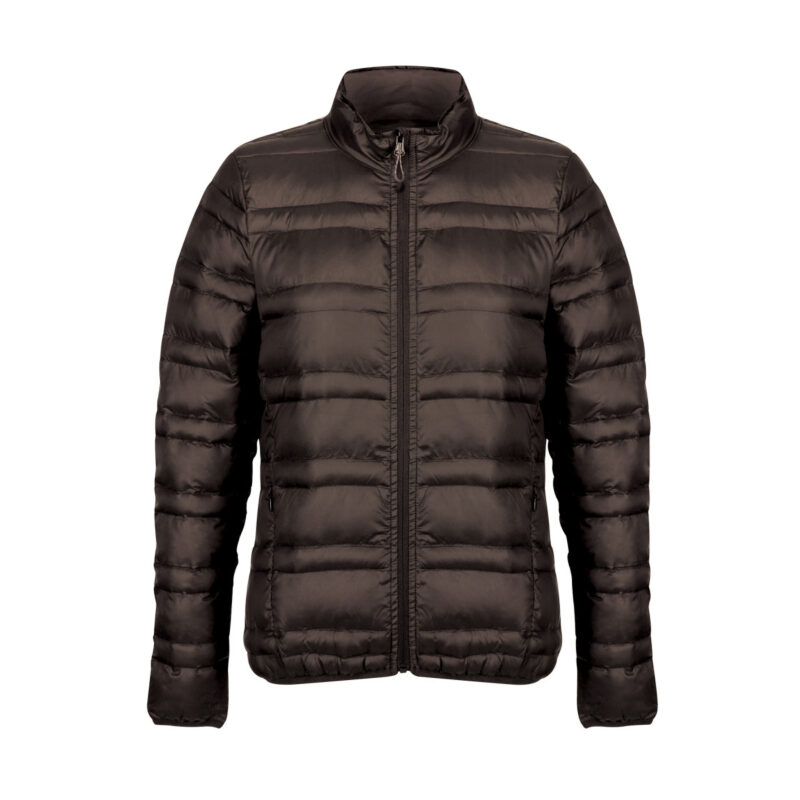 Regatta Firedown Women's Down-Touch Insulated Jacket Seal Grey and Black