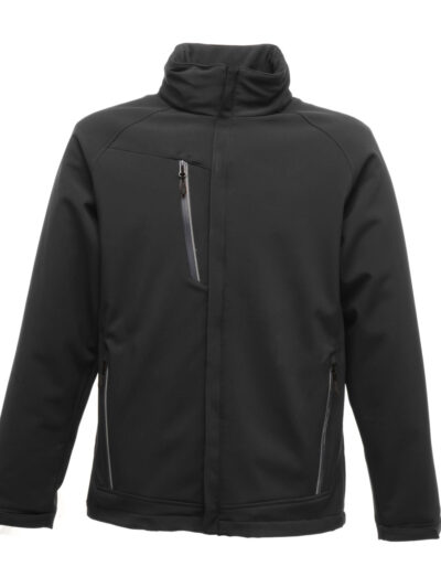 Regatta Apex Waterproof Breathable Membrane Softshell Black