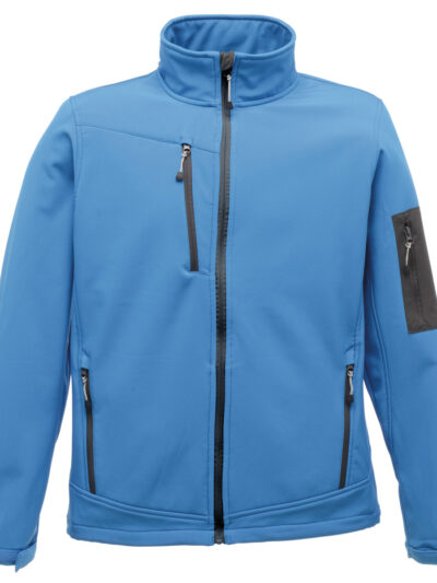 Regatta Arcola 3-Layer Membrane Softshell French Blue and Seal Grey