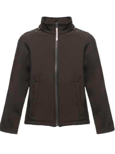 Regatta Junior Kid's Classmate Softshell Black