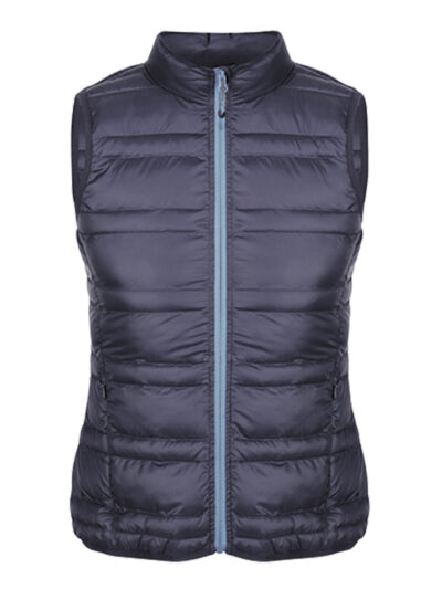 Regatta Firedown Women's Down-Touch Insulated Bodywarmer Navy and French Blue