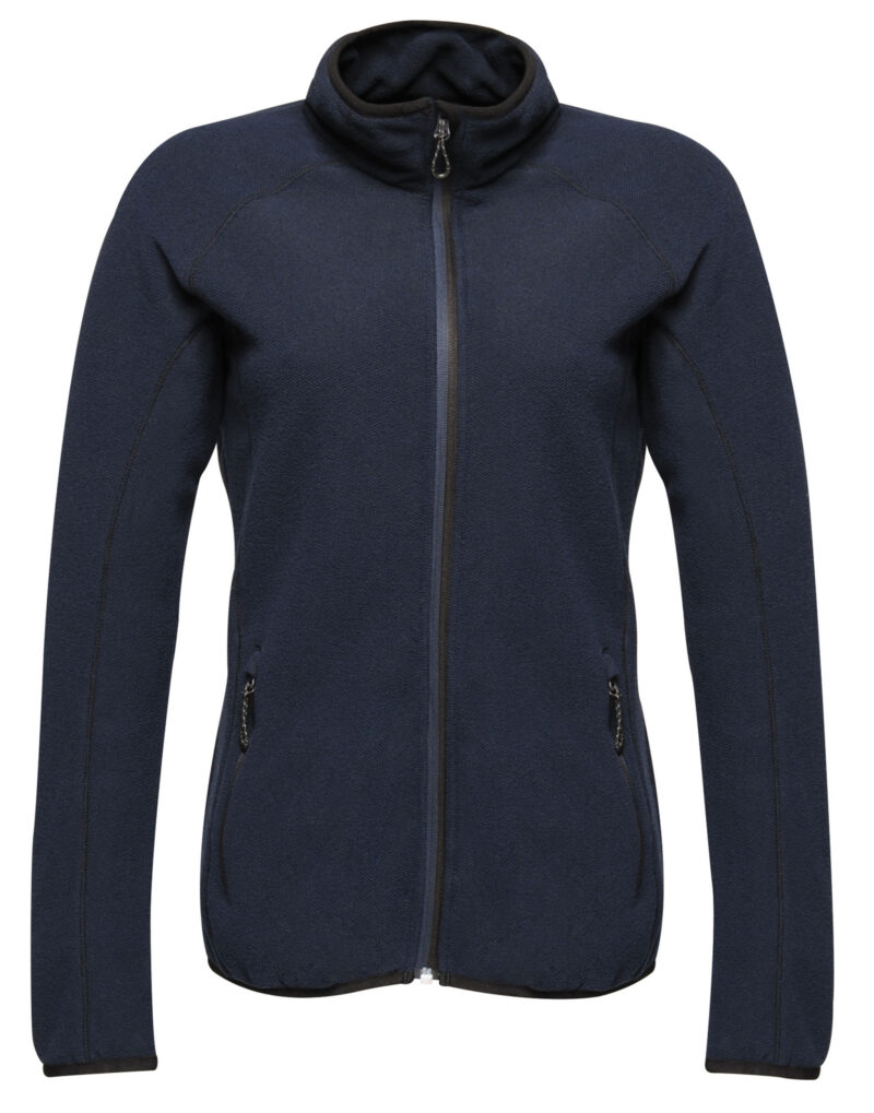 Regatta Dreamstate Women's Full Zip Mini Honeycomb Fleece Navy Blue