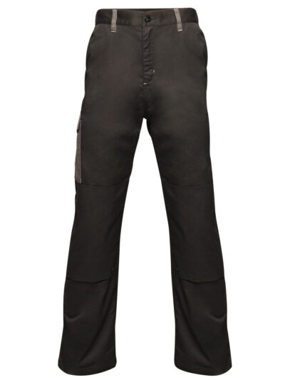 Regatta Contrast Cargo Trousers (R) Black and Seal Grey
