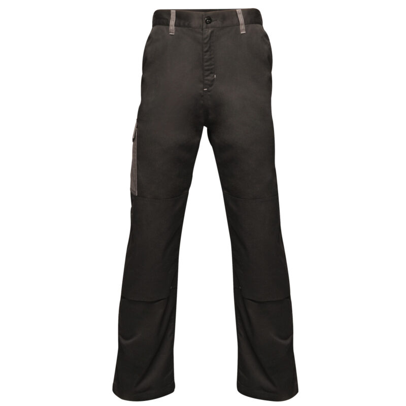 Regatta Contrast Cargo Trousers (R) Black and Seal Grey