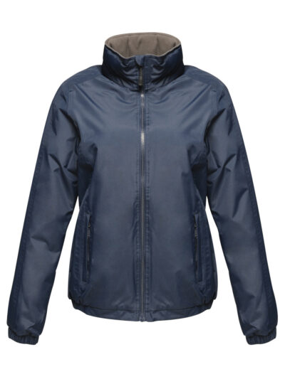 Regatta Dover Women's Fleece Lined Bomber Jacket Navy Blue
