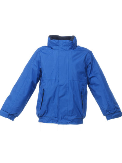 Regatta Junior Kid's Dover Fleece Lined Jacket Royal and Navy
