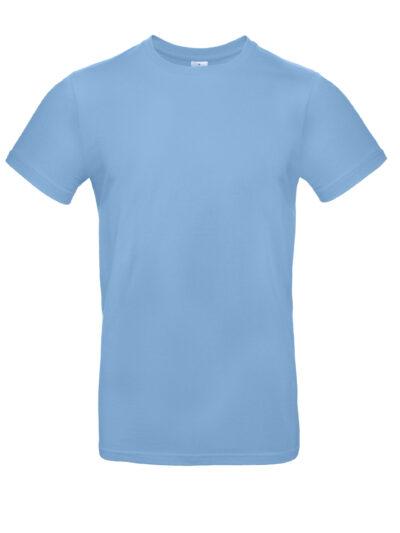 B&C Men's #E190 Tee Sky Blue