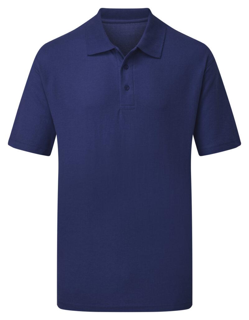 Ultimate Clothing Company 50/50 Piqué Polo Royal Blue