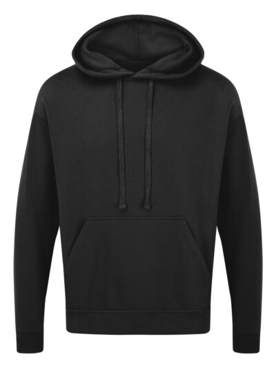 Ultimate Clothing Company Unisex 50/50 260gsm Hooded Sweat Black