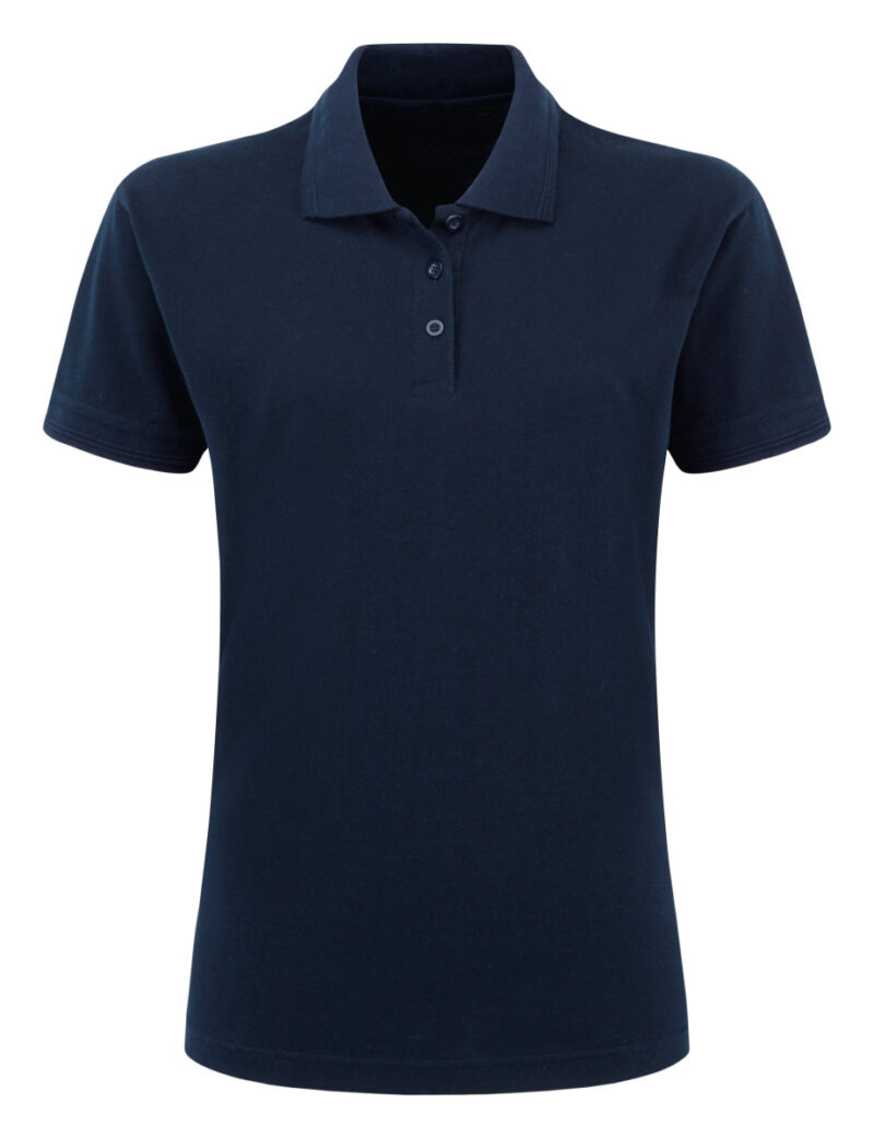 Ultimate Clothing Company Ladies' 50/50 220gsm Pique Polo Navy Blue
