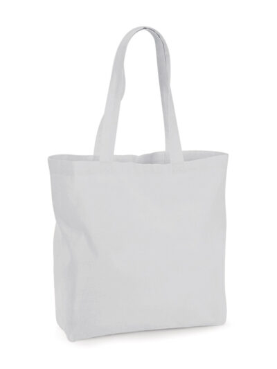 Westford Mill Organic Premium Cotton Maxi Tote Light Grey