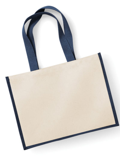 Westford Mill Printers Jute Cot Shopper