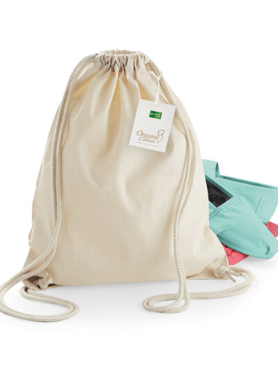 Westford Mill EarthAware® Organic Gymsac Natural