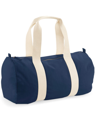 Westford Mill EarthAware® Organic Barrel Bag French Navy