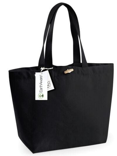 Westford Mill EarthAware® Organic Marina Tote Black