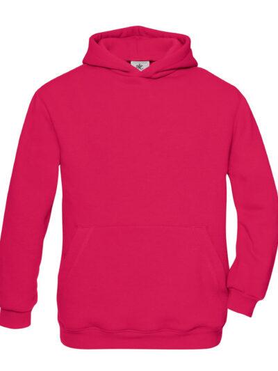 B&C Hooded Kid's Sweatshirt Sorbet
