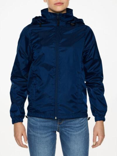 Gildan Hammer Ladies' Windwear Jacket Navy Blue