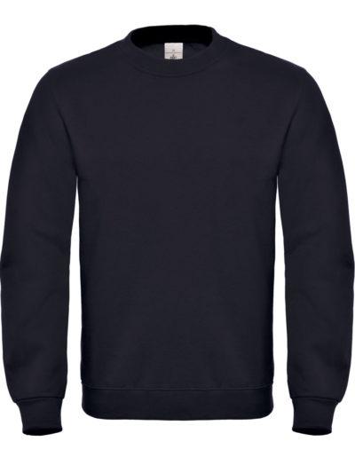 B&C ID.002 Cotton Rich Sweatshirt Black