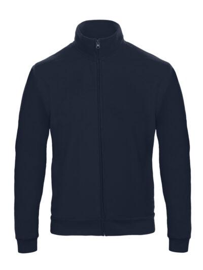 B&C Unisex ID.206 50/50 Full Zip Sweat Jacket Navy Blue