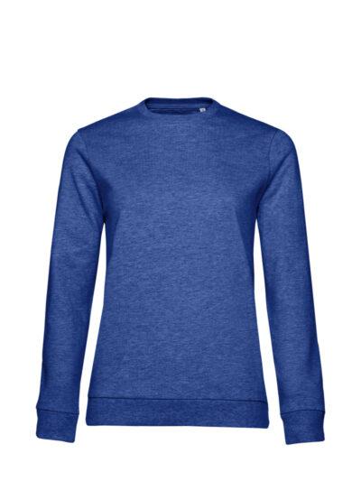 B&C Women's #Set In Sweatshirt Heather Royal Blue