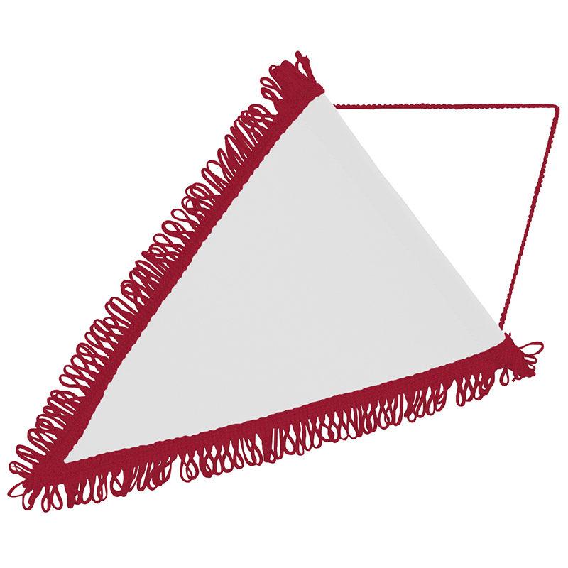 Pennant triangular